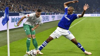 Schalkes Naldo (r.) fehlte in der CL bei Galatasaray © picture alliance