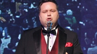 Paul Potts bei der Premiere des Kinofilms One Chance
